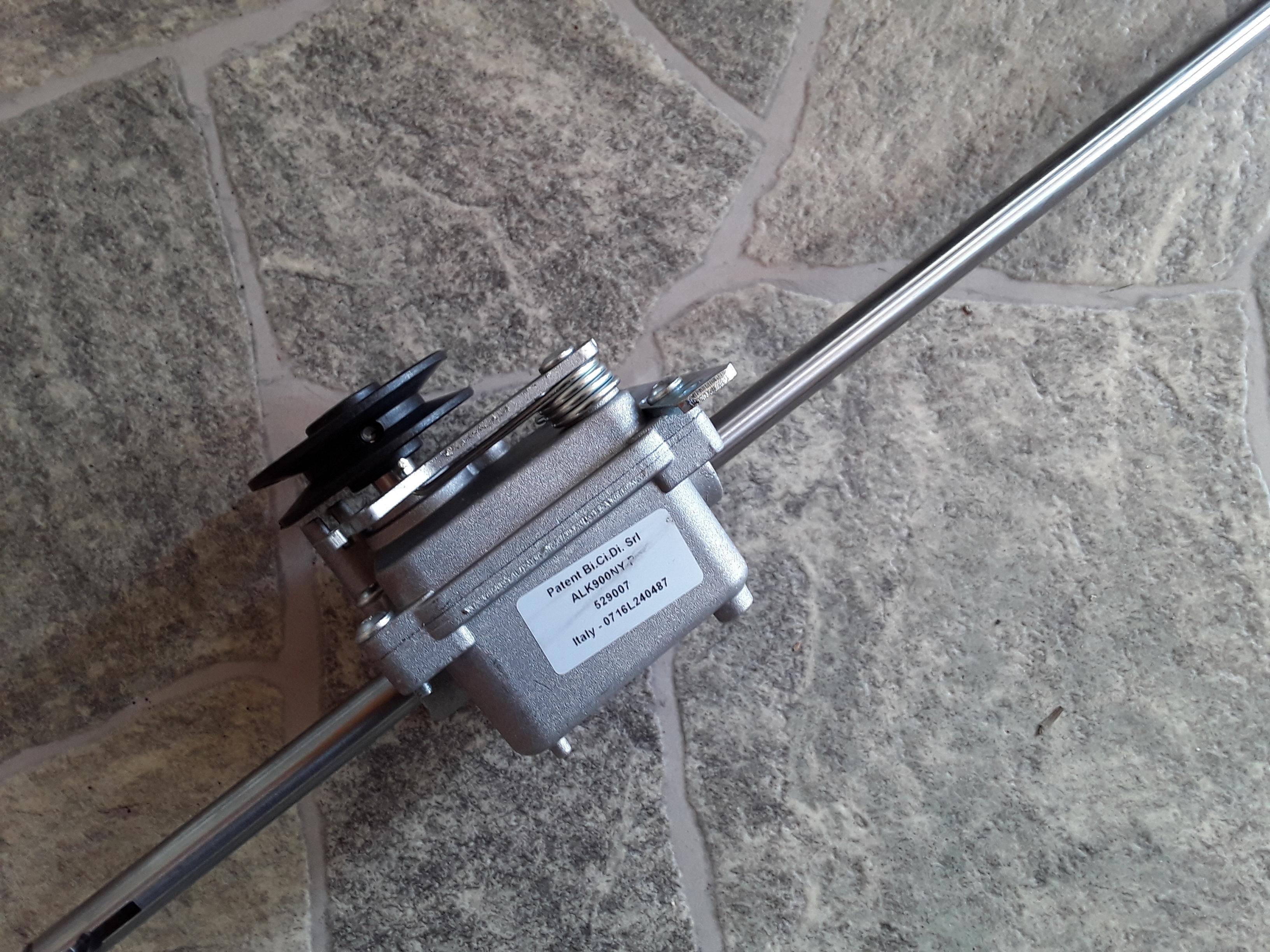 Reservedele - Plæneklipper/Traktor » Ginge » Ginge Gearkasse » Gearkasse t/ Favorit 461 / 46 BRA